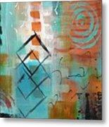 Daily Abstract Week 2, #3 Metal Print