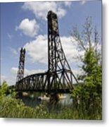 Dain City Railroad Bridge Metal Print
