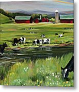Dairy Farm Dream Metal Print