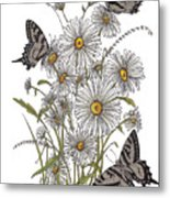 Daisy At Your Feet Metal Print