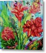 Dala Flower The Flower Of The Ampawa River Maket Metal Print