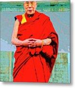 Dalai Lama Metal Print