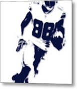 Dallas Cowboys Dez Bryant Metal Print