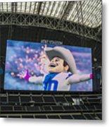 Dallas Cowboys Rowdy Metal Print
