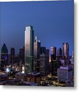 Dallas Metal Print