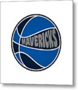 Dallas Mavericks Retro Shirt Metal Print