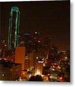 Dallas Night Moves Metal Print