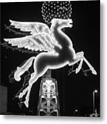 Dallas Pegasus Bw 121517 Metal Print