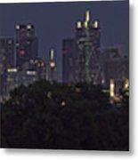 Dallas Trinity River Panorama Metal Print