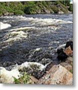 Dalles Rapids French River I Metal Print