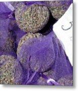 Dalmatian Lavender Metal Print