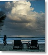Daluyan Resort On Sabang Beach Metal Print