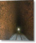 Dalveen Railway Tunnel 1880 Metal Print