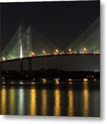 Dames Point Bridge Metal Print