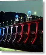 Damm River Bridge Metal Print