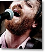 Dan Auerbach And The Fast Five Performs At The Mean Eyed Cat Dur Metal Print