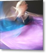 Dance Ballerina Metal Print