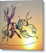 Dance At Sunrise Metal Print