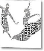Dance Beauty Metal Print