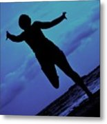 Dance By The Sea Metal Print