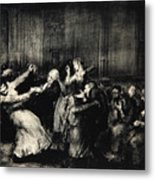 Dance In A Madhouse Metal Print