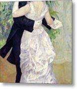 Dance In The City Metal Print by Pierre Auguste Renoir