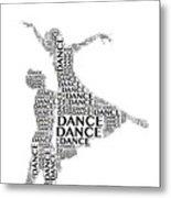 Dance Lift Metal Print