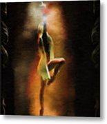Dance Macabre Metal Print
