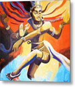 Dance Of Shiva Metal Print