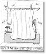 Dance Of The Inconsistent Water Temperature  Metal Print