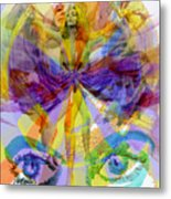Dance Of The Rainbow  Metal Print