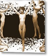 Dance Of The Seven Nudes Metal Print