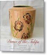 Dance Of The Tulips Metal Print