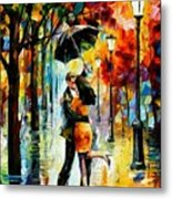 Dance Under The Rain Metal Print