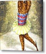 Dancer 3 Metal Print