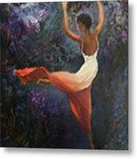 Dancer A Metal Print