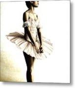 Dancer At Peace Metal Print