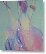 Dancer At The Follies Metal Print
