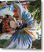 Dancer Day Of The Dead II Metal Print