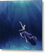 Dancer In The Water  Metal Print