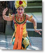 Dancer Of Bali Metal Print