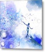 Dancer On Water 1 Metal Print