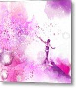Dancer On Water 4 Metal Print