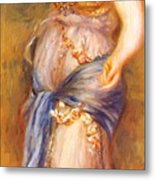 Dancer With Castanettes 1909 Metal Print