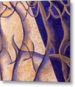 Dancers - Study 12 Metal Print