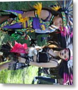 Dancers Day Of The Dead  Metal Print