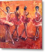 Dancers In The Flame Metal Print