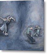 Dancers Metal Print by Michelle Iglesias