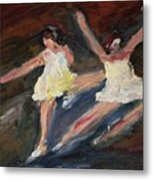 Dancers  One Metal Print
