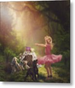 Dances In The Summer Metal Print
